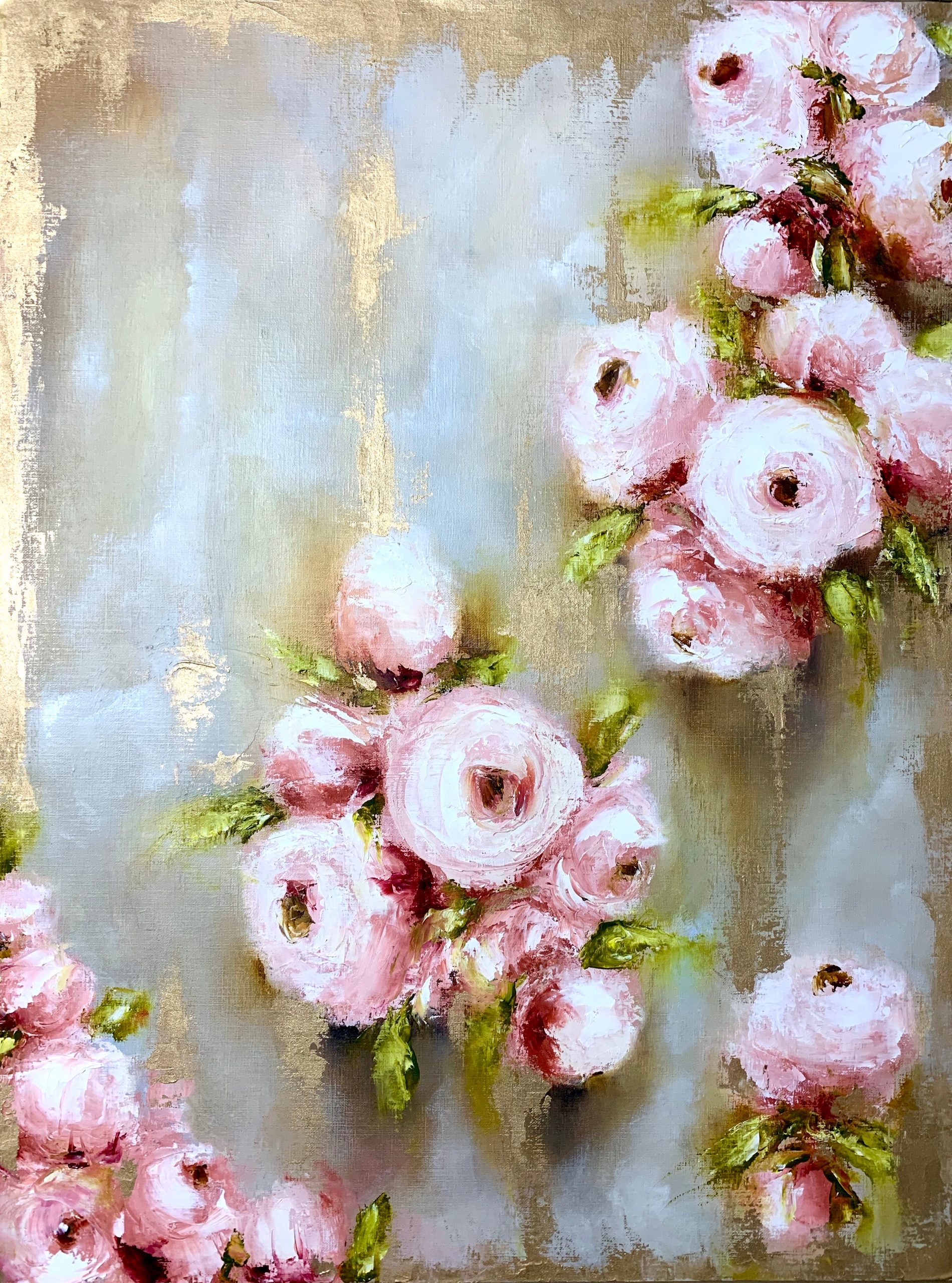 Inside the Dreamy Floral World of Amy Elizabeth Fine Art