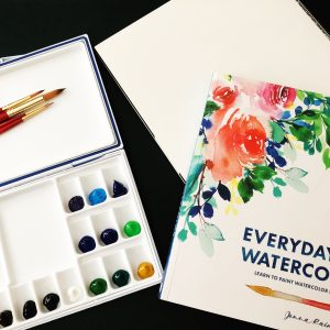 3 Tips For Setting Up Your Watercolor Palette